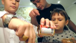 Карп в кисло-сладком соусе - готовим с помощниками :) Vlog #1