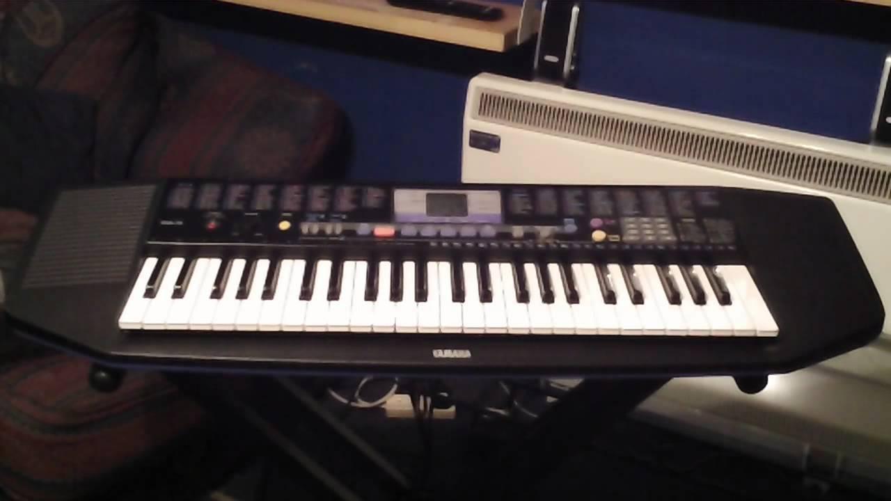 yamaha psr 78 keyboard 20 demonstration songs youtube rh youtube com yamaha psr-190 specifications Yamaha PSR S670
