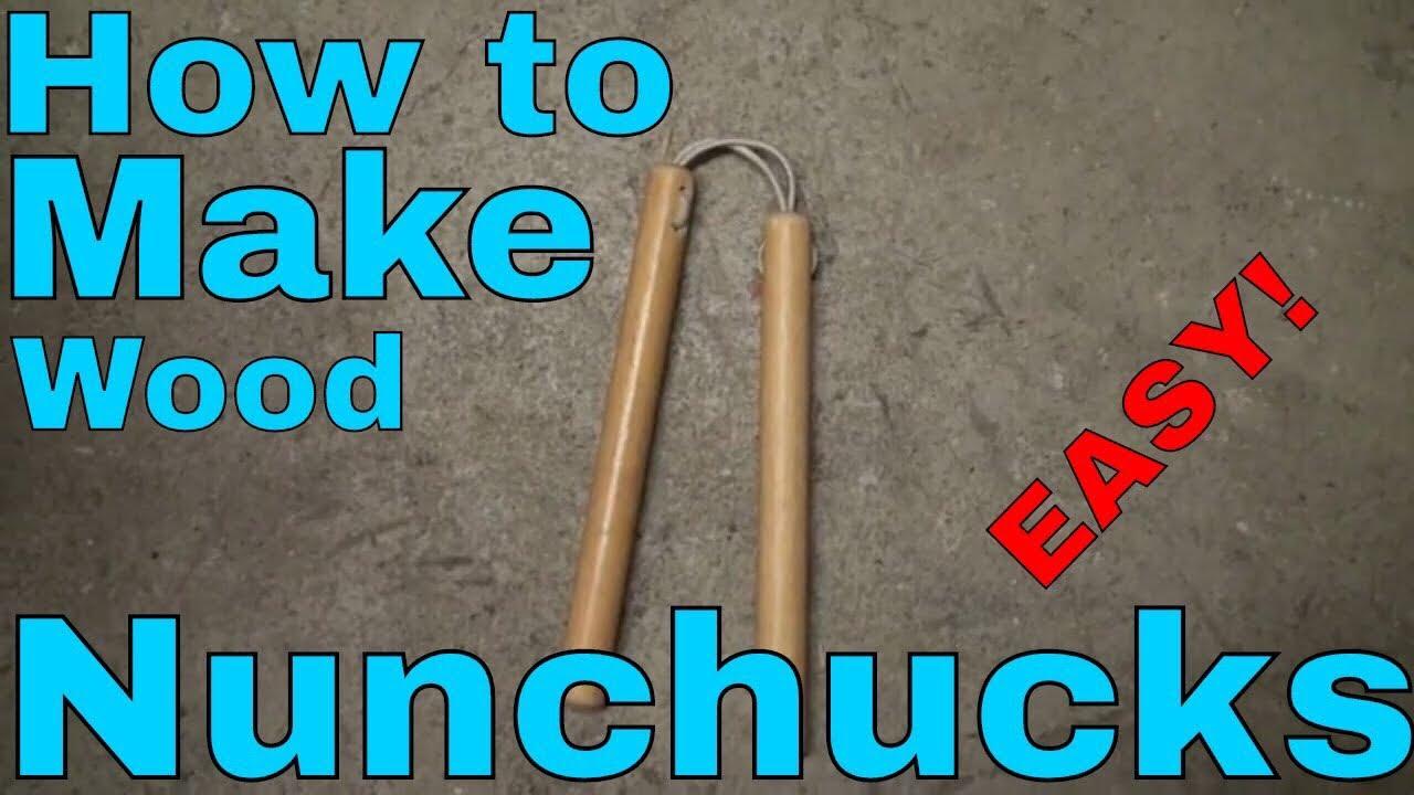 Download Easiest Way to Make Wooden Nunchaku