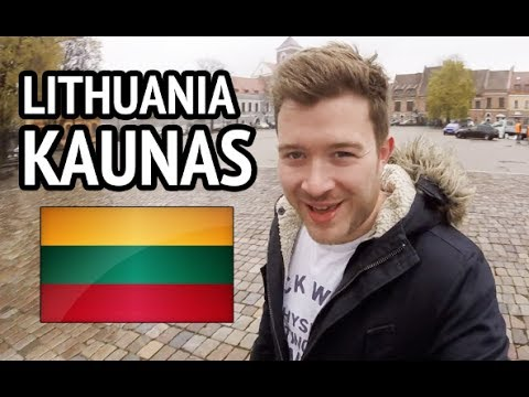 KAUNAS LITHUANIA - Tourist guide