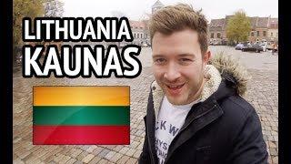 KAUNAS LITHUANIA - Tourist guide