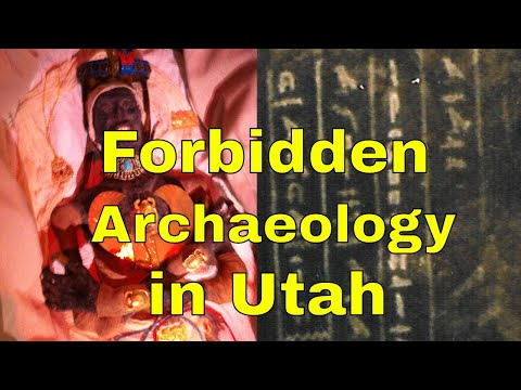 Ancient Egyptians were in Utah - Tribal Elders shared their oral history