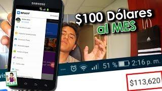 whaff 2017/ $100 Dólar al MES DEMOSTRADO!!! / Como trabajo en internet? / Comprobante de Pago! /ANB
