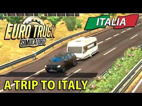 A Trip To Italy | ITALIA DLC Euro Truck Simulator 2 - Ep1