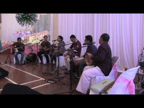 Setia - Elizabeth Tan ft. Faizal Tahir Acoustic Cover (Damai & Friends)