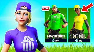 New Banner Brigade Set Gameplay: Customize Your Skin! (Fortnite Battle Royale)