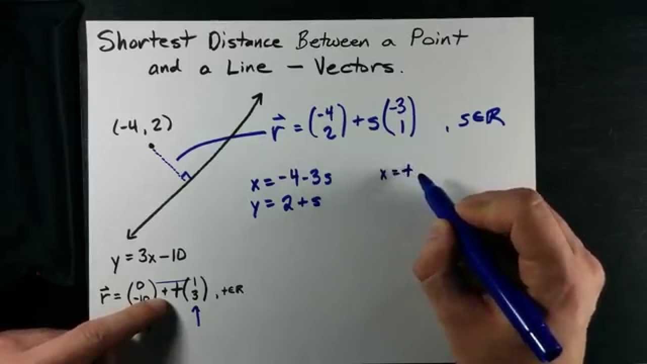 vector equation of a line pdf