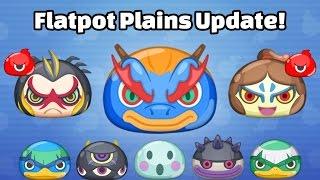 Yo-kai Watch Wibble Wobble - Flatpot Plains Update and Kyryn Crank-a-Kai Party!