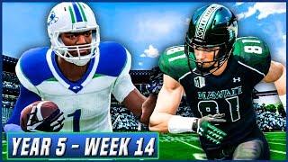 NCAA Football 14 Dynasty Year 5 - Week 14 @ Hawaii (Final Regular Season Game) | Ep.85