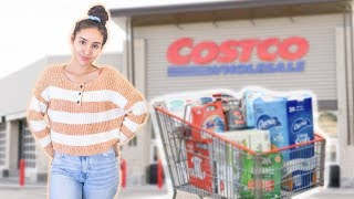 GROCERY SHOP WITH ME FOR THE WEEK // FAMILY OF 5 // COSTCO & STATER BROS