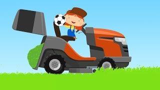 Doktor MacWheelie - Zeichentrick für Kinder - Der Rasenmäher