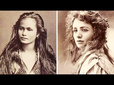 100-летние Фотографии Самых Красивых Женщин Прошлого Века