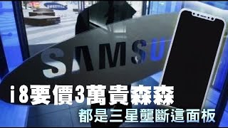 i8要價逾3萬貴森森 都是三星壟斷這面板   台灣蘋果日報
