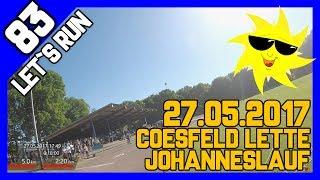 Let´s Run #83 - Johanneslauf Coesfeld Lette - über 30 Grad 5km