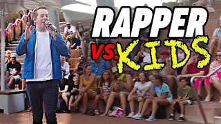 Freestyle Rapping for 100 Kids