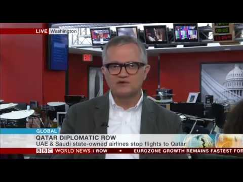 Ali Shihabi discusses GCC-Qatar diplomatic showdown - BBC World News