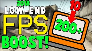 How To Boost Fps CS GO For Low PC / Intel HD Graphics ( CONFIG 2019 )