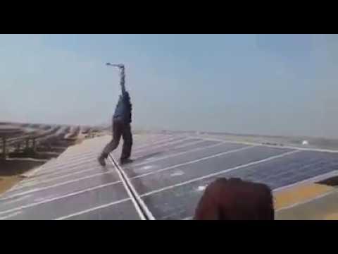 Smashing Solar Panels