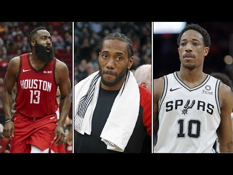Kawhi Leonards Return to San Antonio! James Harden Roasts the Warriors! DeRozans Revenge Game!