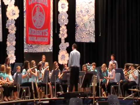 Shenandoah by Cambria Heights Middle School concert band