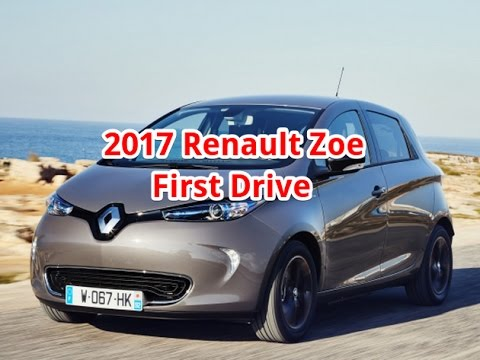 renault zoe first drive 2017 renault zoe review acceleration youtube. Black Bedroom Furniture Sets. Home Design Ideas