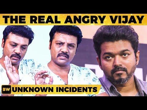 Thalapathy Vijay ரொம்ப கோவப்பட்டு என்ன பண்ணாரு? - Actor Sanjeev Reveals | MY347