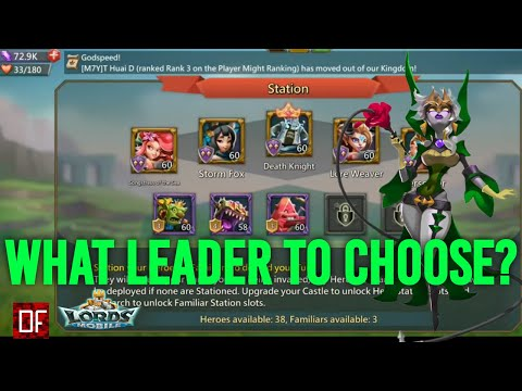 How To Pick A Leader In Lords Mobile