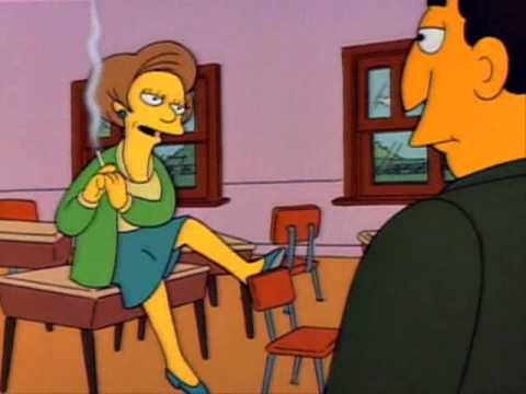 The Simpsons - Mrs. Krabappel Are You Trying To Seduce Me