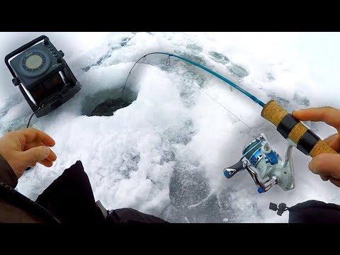 First Ice Fishing Mille Lacs Lake 2019 (DANGEROUS)