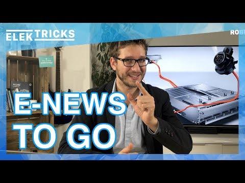 E-News TO GO: VW Elektro Shuttle, GM täuscht PSA, Tesla Model 3 Reichweite, Akkus werden günstiger