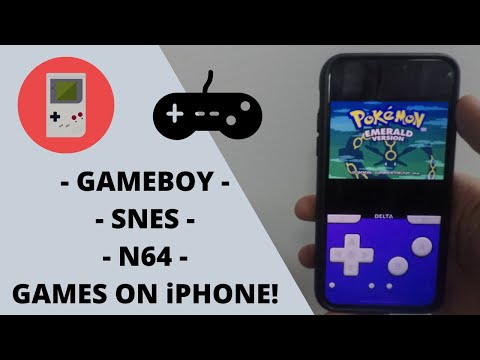 GBA Emulator For IPhone: How To Download Gameboy, SNES, N64 Games || No Jailbreak!