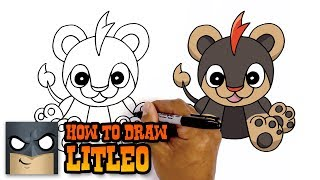 How to Draw Litleo | Pokemon (Art Tutorial)