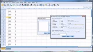 Conducting Brown Forsythe And Welch Tests In Spss