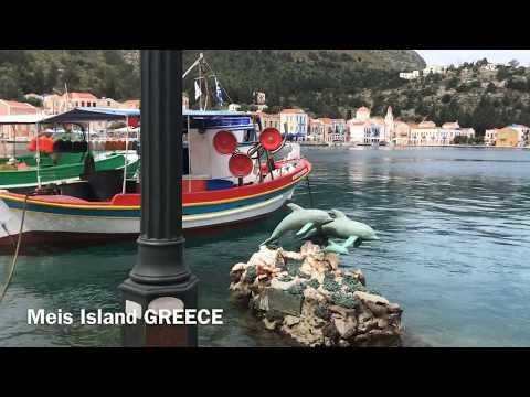 Meis Adası - Kastellorizo island Greece 1080p HD 2019