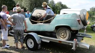 Redémarrage Renault 4 de 1966 à l'arrêt depuis 30 ans