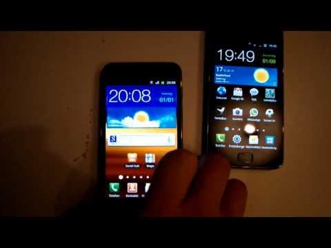 Samsung Galaxy S2 vs Galaxy S2 LTE