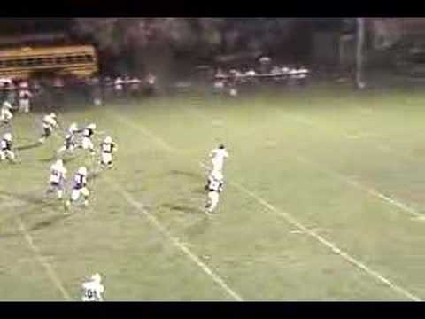Mike Driggs 51 yard touchdown comets