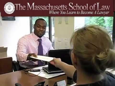 Massachusetts School of Law Admissions Video