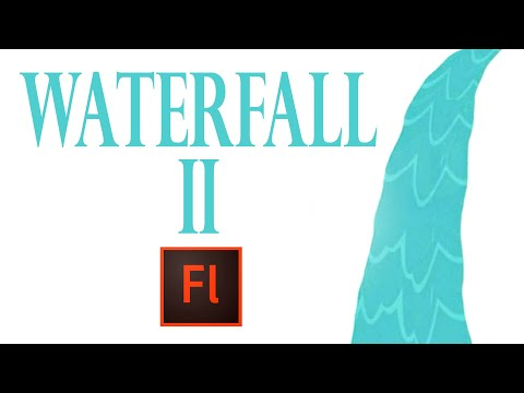 Flash Animation Tutorial - Animate Water Fall with Flash