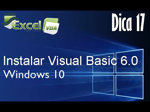 Instalar Visual Basic 6 0 No Windows 10
