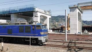 JR貨物 EF510−502(富山) 敦賀発車