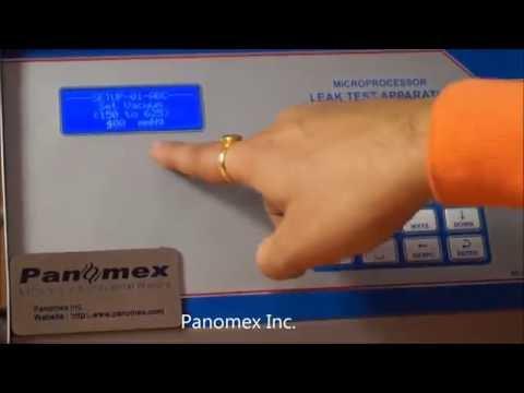 Leak Test Apparatus Procedure Demonstration Video