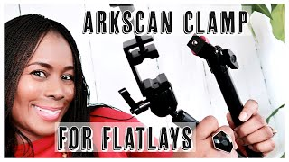 ARKSCAN MCM5 Tabletop Clamp Review | Great for Flatlays, YouTubers and Photography | ISOWA GALLERY