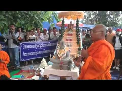 Cambodia: Ven But Buntenh at Democratic Park