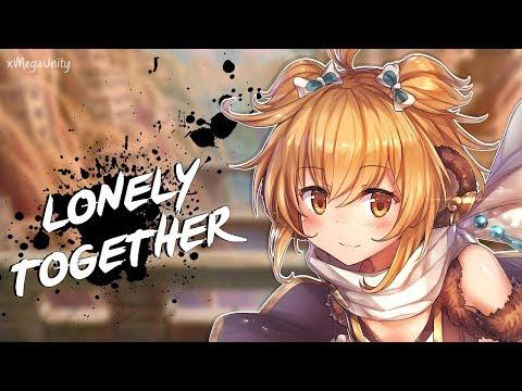 Nightcore - Lonely Together (Remix) | Lyrics