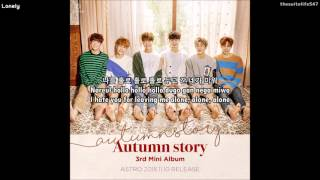 Astro - Lonely (Hangul, Romanization, Eng Sub)