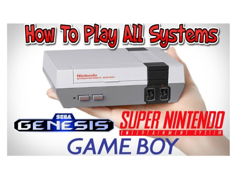 How To Play All Systems On The NES Classic