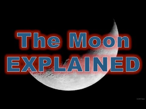 Flat Earth  - The Moon Explained 100% thumbnail