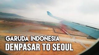 Flight Review Airbus| Garuda Indonesia GA870 | Denpasar Bali to Seoul