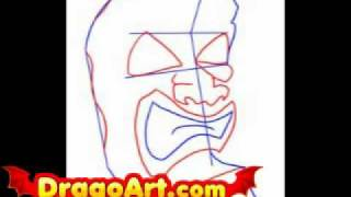 How to draw a tiki, step by step
